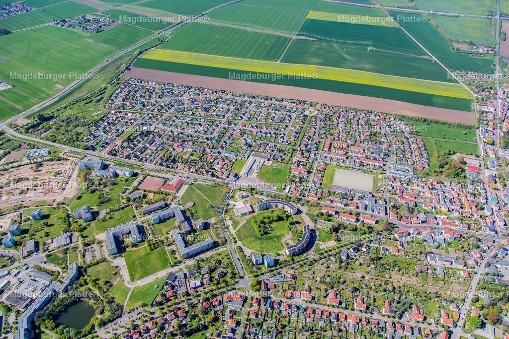 Luftbild Magdeburg Olvenstedt neues Wohngebiet-6073 | Luftbilder aus der Vogelperspektive von MAGDEBURG ... mit Drohne oder von oben fotografiert für die Bilddatenbank der Luftbildfotografie von Sachsen - Anhalt.
