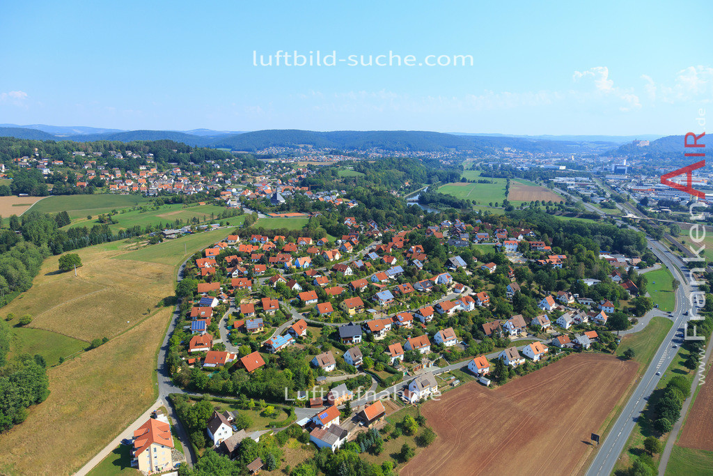 kulmbach-2015-2788 | Luftbild von  Kulmbach - Luftaufnahme wurde 2015 von https://frankenair.de mittels Flugzeug (keine Drohne) erstellt - die Geschenkidee