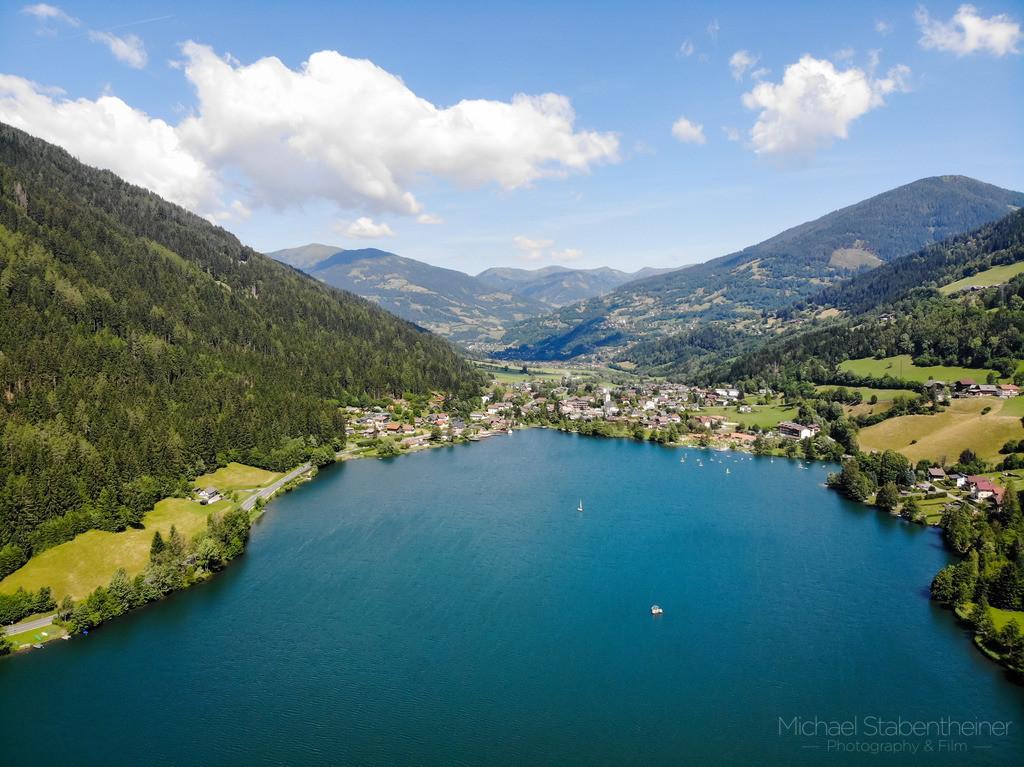 Feld am See | Luftbild von Feld am See im Gegendtal