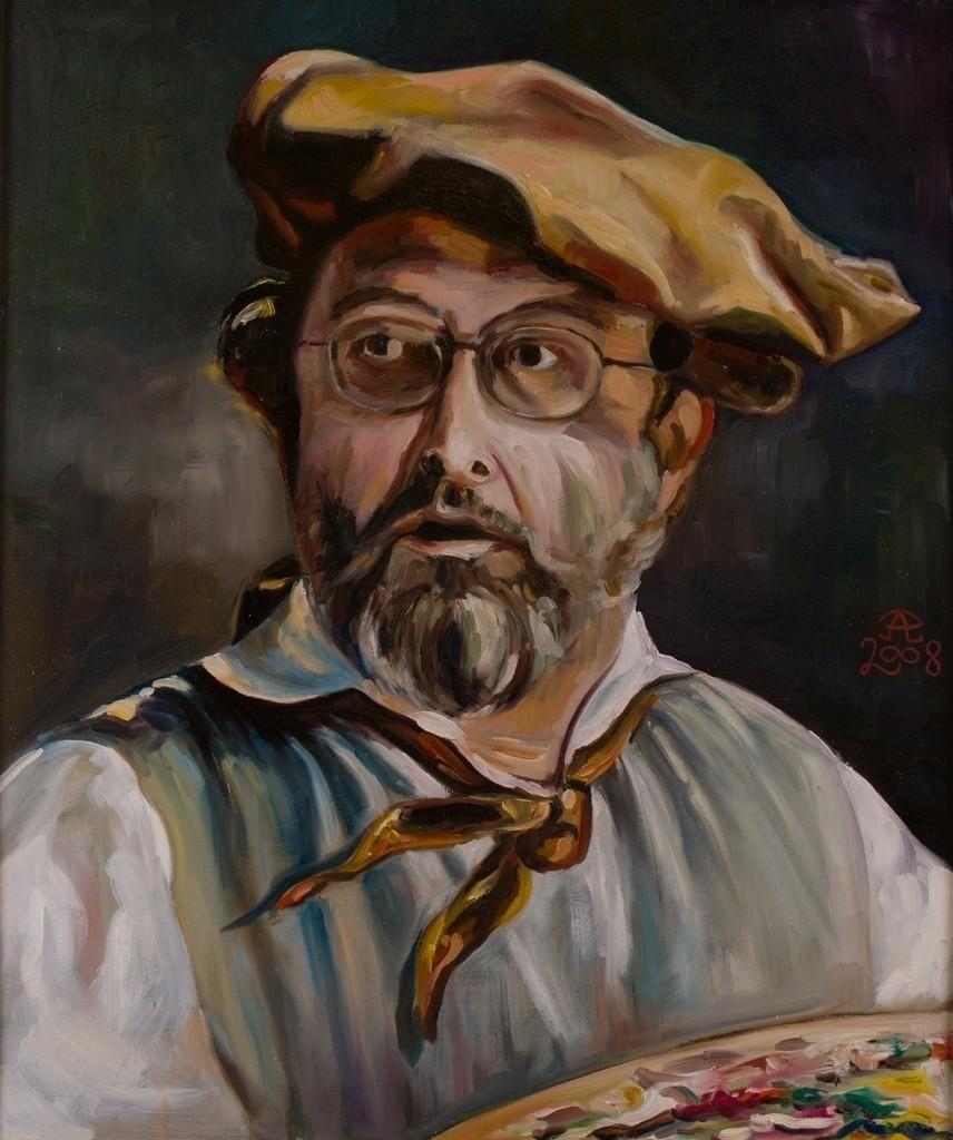 Der Impressionist | Originalformat: 60x50cm  -  Produktionsjahr: 2008