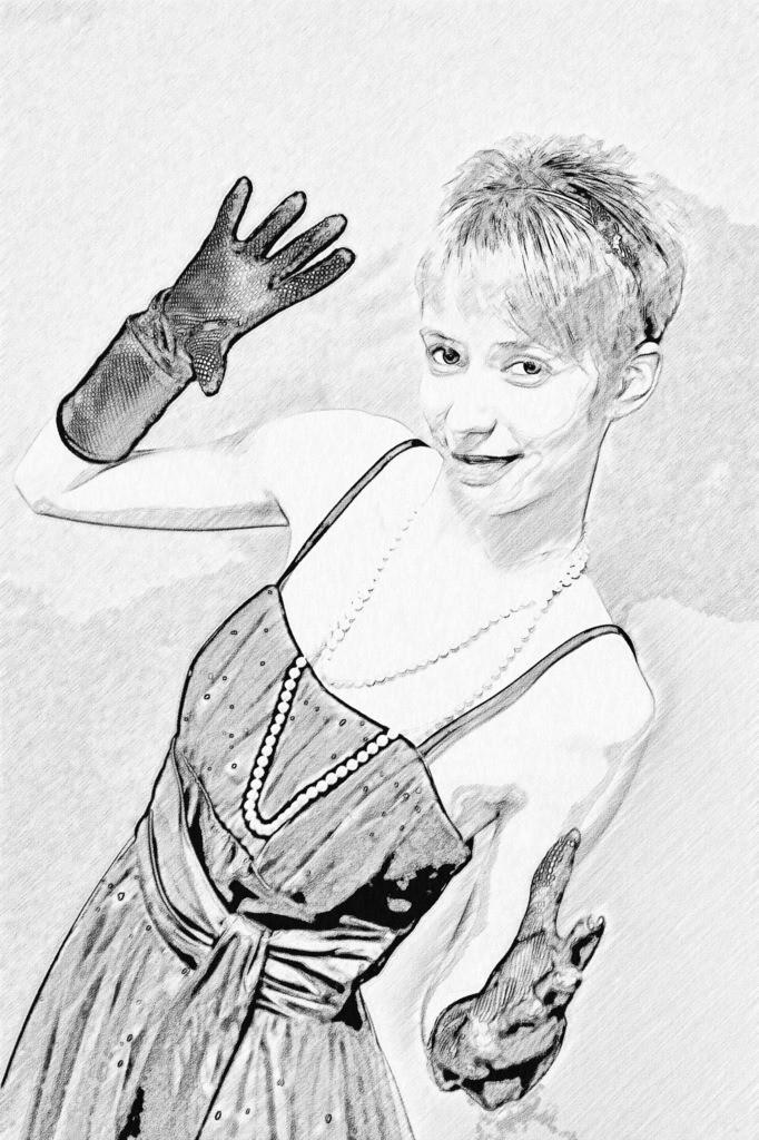Handschuh Lady Bild 006