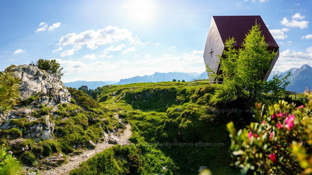 Granatkapelle Almrosen Panorama