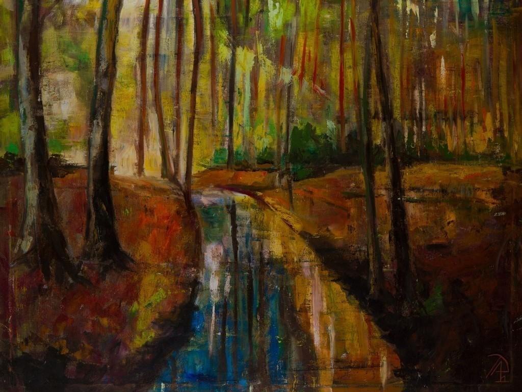 Wald Impressionen | Originalformat: 80x100cm  -   Produktionsjahr: 2011