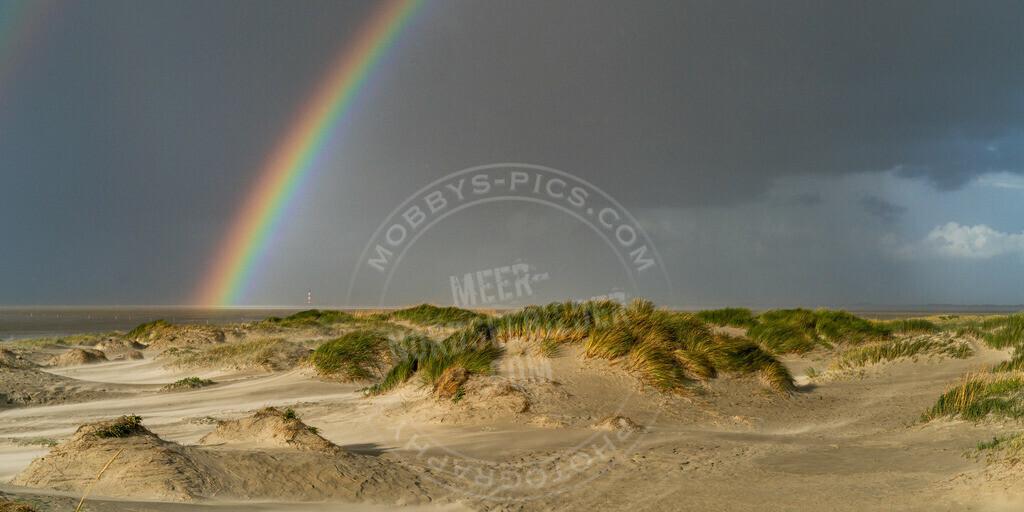fotograf sankt peter-ording mobbys-pics.com_DSC7406 | Dünen unterm Regenbogen