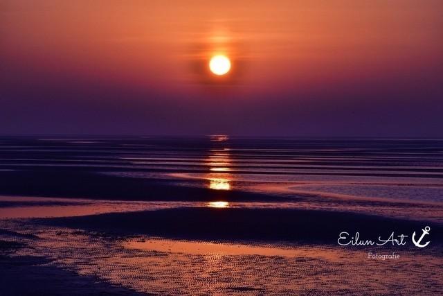 A 1   Sonnenaufgang Wyk auf Föhr