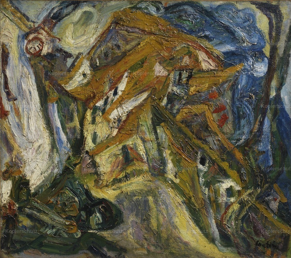 Soutine_ Chaim (1893-1943) - View of Ceret 1921-22