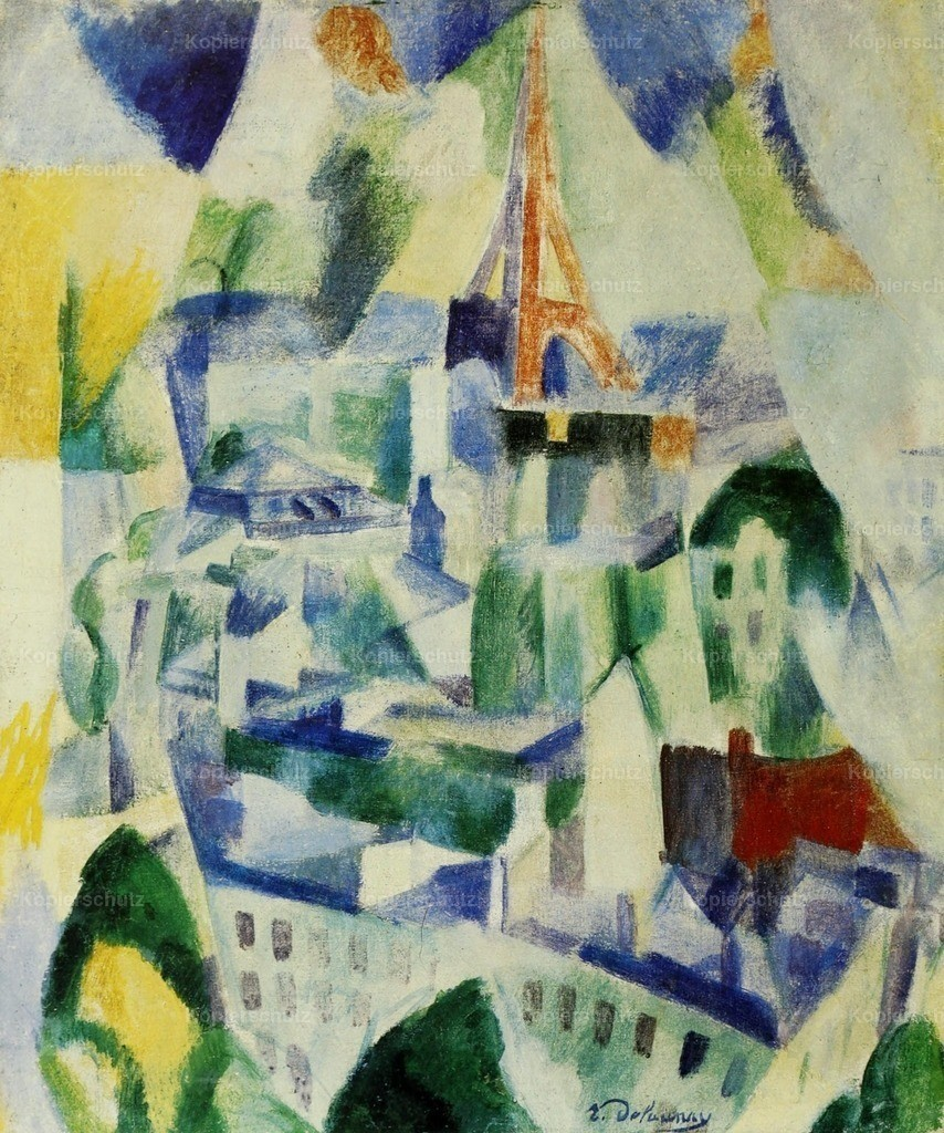 Delaunay_ Robert (1885-1941) - The Window on the City 1910-14