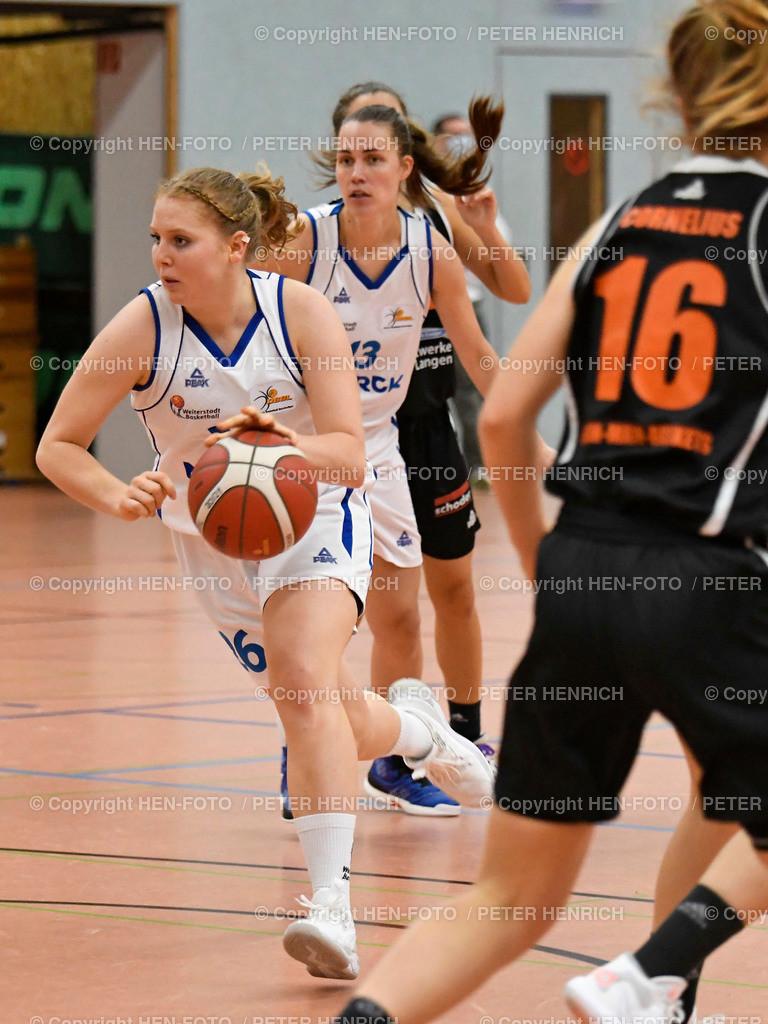 Basketball 2. BuLi Damen SG Weiterstadt - Rhein-Main Baskets 20201025 copyright by HEN-FOTO | Basketball 2. BuLi Damen SG Weiterstadt - Rhein-Main Baskets (62:98) 20201025 Mi 26 Carolin Schmidt (W) copyright by HEN-FOTO Peter Henrich