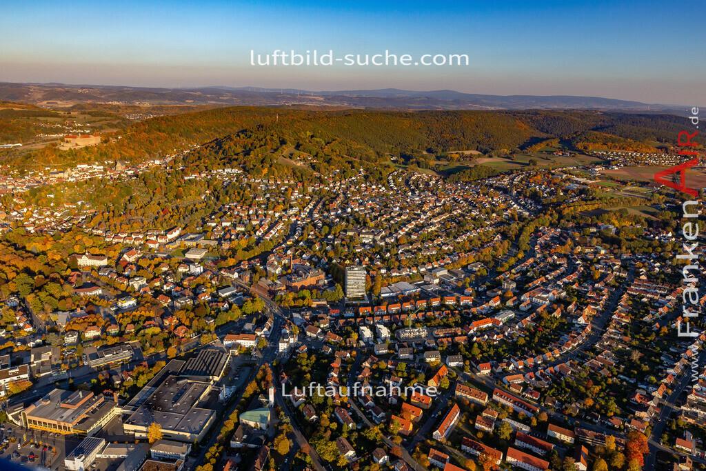 kulmbach-18-2781 | aktuelles Luftbild von  Kulmbach - Luftaufnahme wurde 2018 von https://frankenair.de mittels Flugzeug (keine Drohne) erstellt.