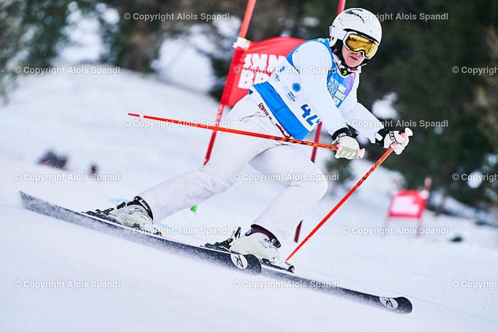 ALS5807_WWMG_GS-II_C | (C) FotoLois.com, Alois Spandl, WinterWorldMastersGames 2020 Innsbruck, Giant Slalom-II Gruppe C Damen, Patscherkofel Olympiaabfahrt, Mi 15. Jänner 2020.