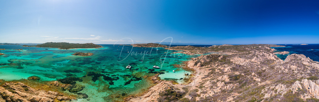 La Maddalena | Panorama vom La Maddalena Archipel, Sardinien