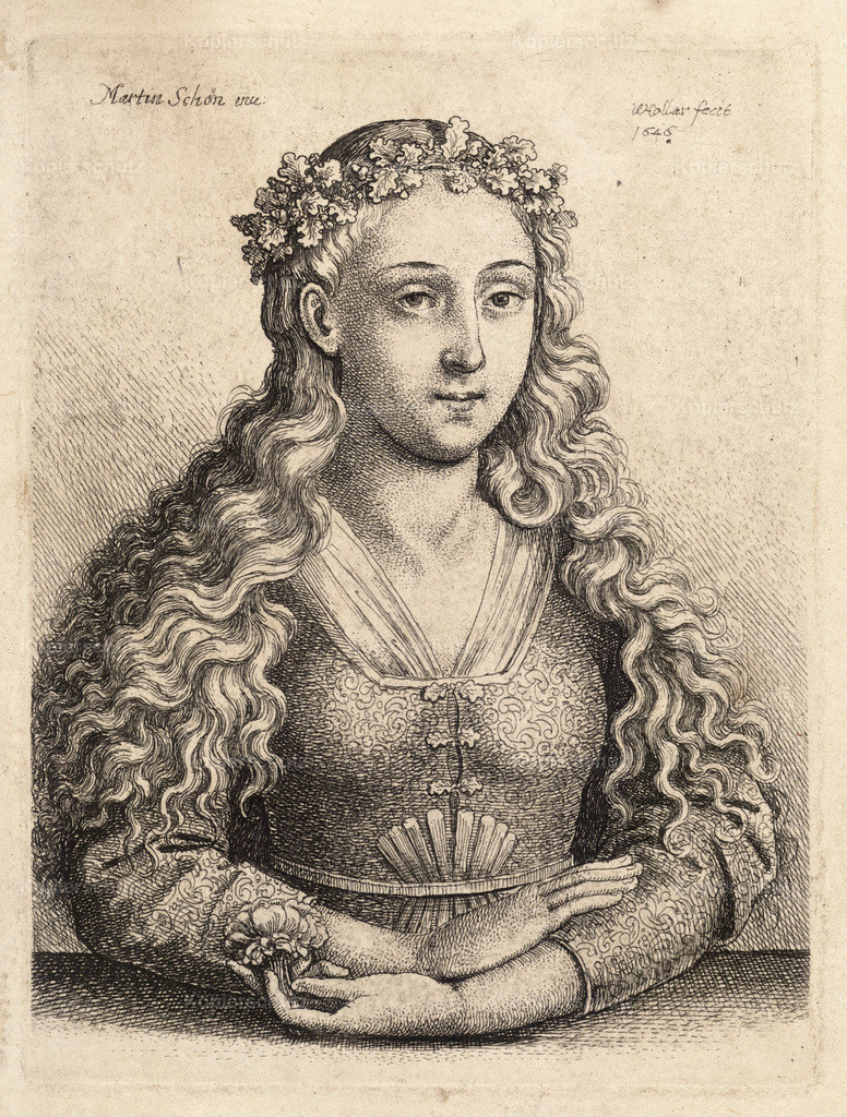 Wenceslas_Hollar_-_Woman_with_a_wreath_of_oak_leave