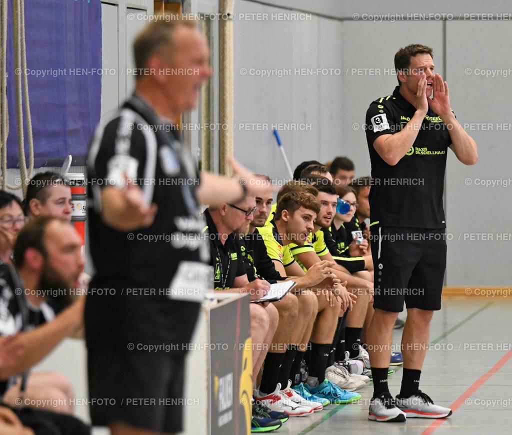 Handball Gross Bieberau Modau - Baunatal 20190824 copyright by HEN-FOTO | Handball 3. Liga Bieberau Modau - Baunatal 20190824 re Trainer Thorsten Schmid (BM) copyright by HEN-FOTO Foto: Peter Henrich