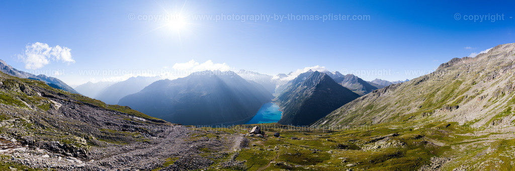 Olpererhütte Schlegeis Panorama