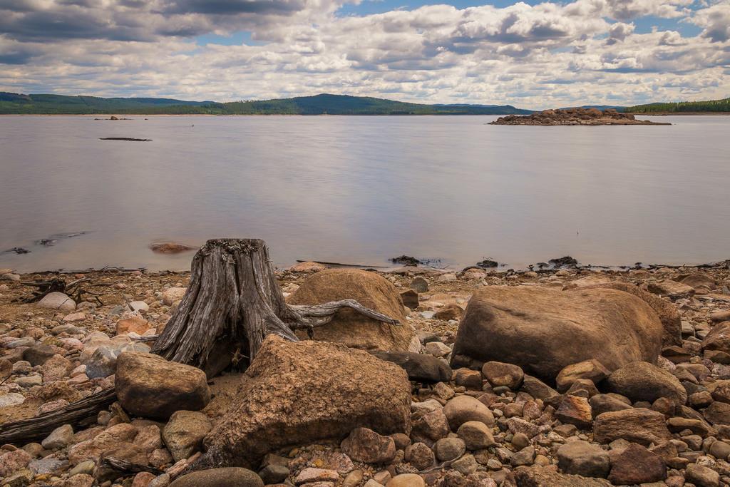 Der See Letten | Am See Letten in der Region Värmland.