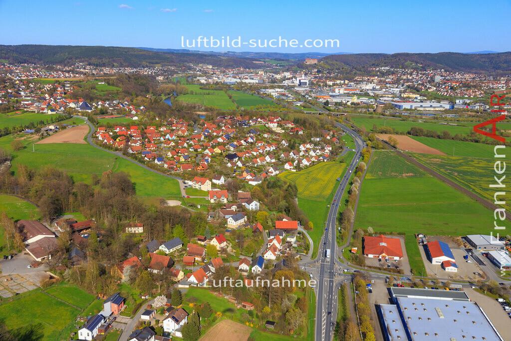 kulmbach-2016-3196 | Luftbild von  Kulmbach - Luftaufnahme wurde 2016 von https://frankenair.de mittels Flugzeug (keine Drohne) erstellt - die Geschenkidee