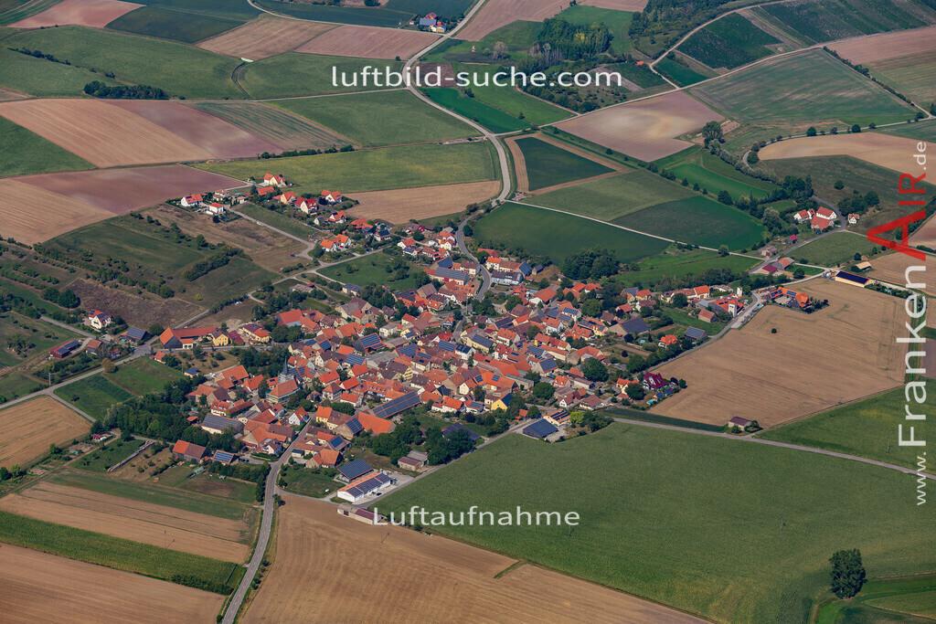 weigenheim-19-760 | aktuelles Luftbild von  Weigenheim - Luftaufnahme wurde 2019 von https://frankenair.de mittels Flugzeug (keine Drohne) erstellt.
