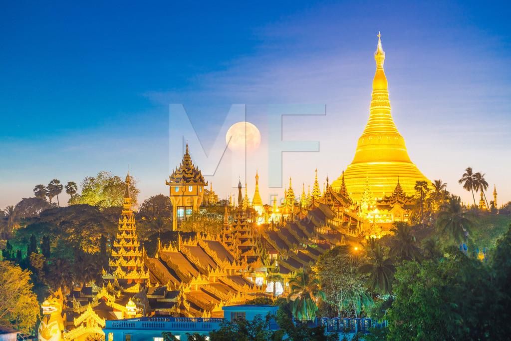 MW1016-2961 | Shwedagon-Pagode in Yangon