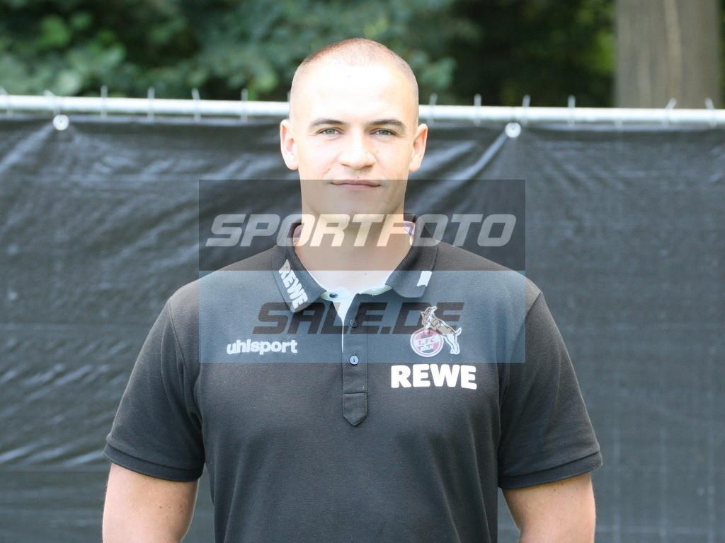 1. FC Köln Fotoshooting   Hannes Dold - © Sportfoto-Sale (MK)