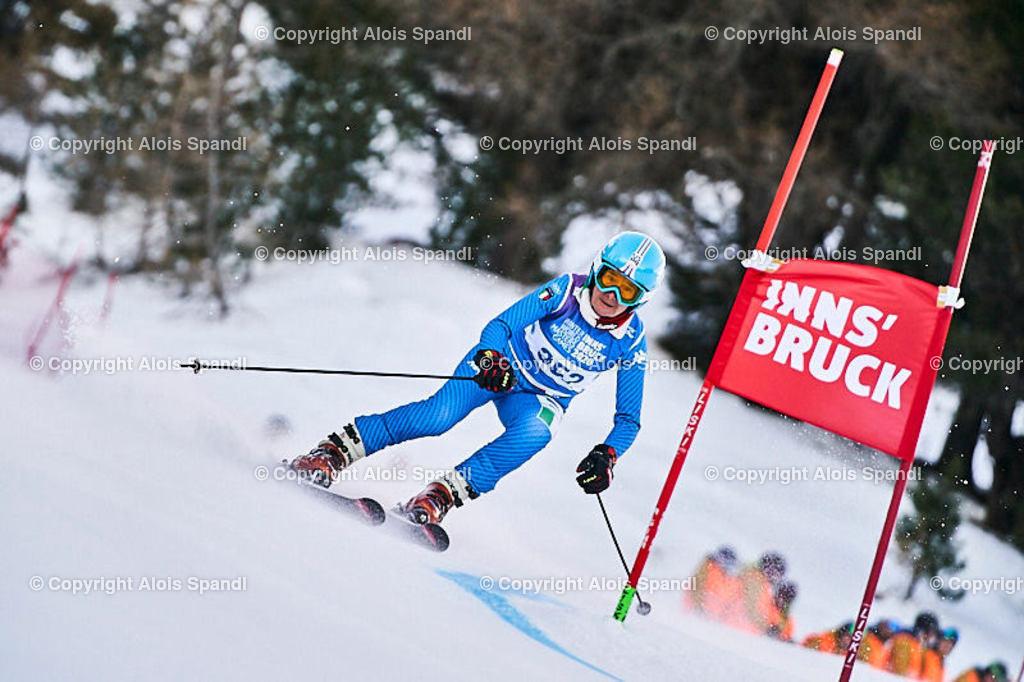ALS5418_WWMG_GS-II_C | (C) FotoLois.com, Alois Spandl, WinterWorldMastersGames 2020 Innsbruck, Giant Slalom-II Gruppe C Damen, Patscherkofel Olympiaabfahrt, Mi 15. Jänner 2020.