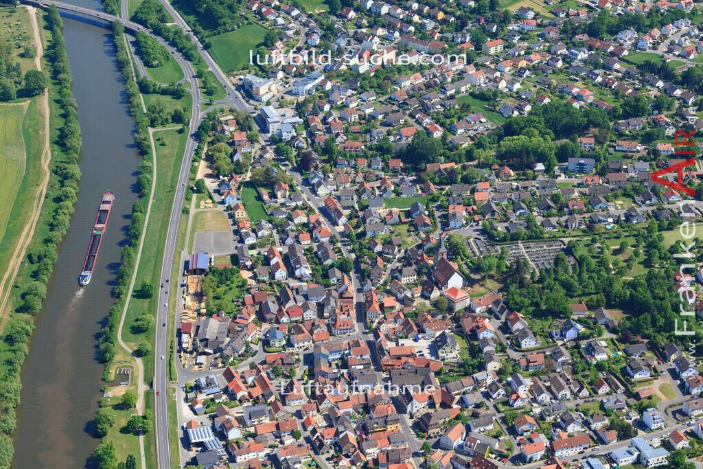 bischberg-18-338 | aktuelles Luftbild von  Bischberg - Luftaufnahme wurde 2018 von https://frankenair.de mittels Flugzeug (keine Drohne) erstellt.
