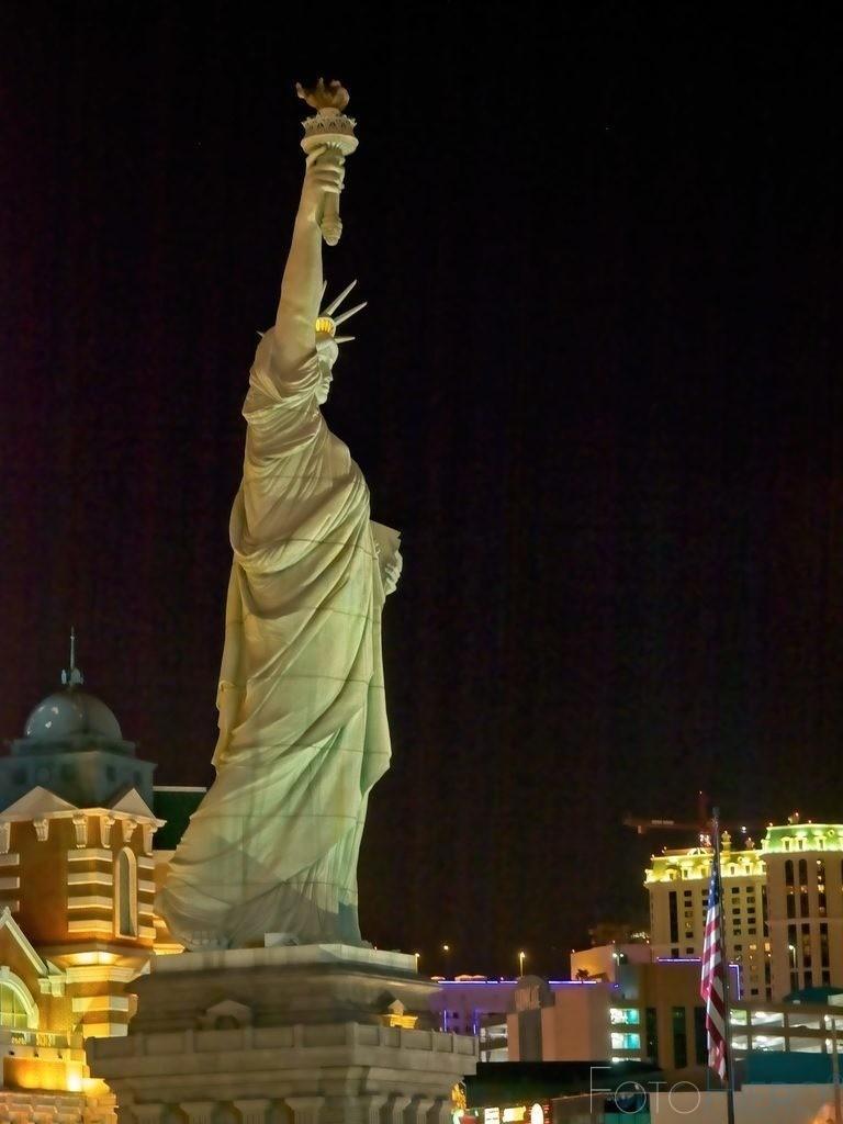 Statue of Liberty, Las Vegas | Statue of Liberty vor dem Hotel New York, New York, Las Vegas, Nevada, USA