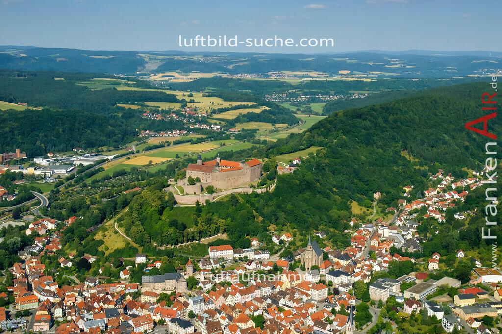 plassenburg-kulmbach-2008-01 | Luftbild von Plassenburg Kulmbach - Luftaufnahme wurde 2008 von https://frankenair.de mittels Flugzeug (keine Drohne) erstellt - die Geschenkidee