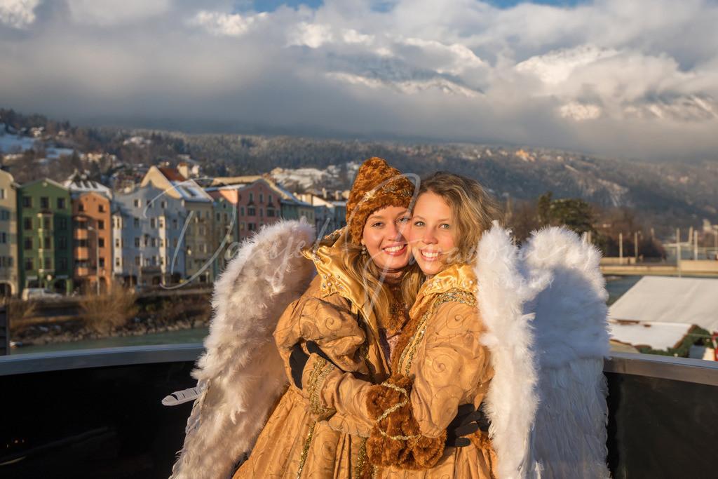 Christkindlmarkt Engel | Die Engel des Innsbrucker Christkindlmarkts