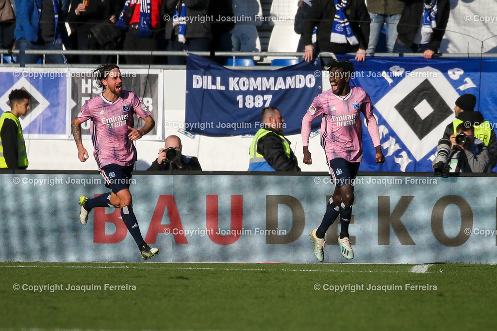 191221svdvshsv_0829 | 21.12.2019 Fussball 2.Bundesliga, SV Darmstadt 98-Hamburger SV emspor, despor  v.l.,      (DFL/DFB REGULATIONS PROHIBIT ANY USE OF PHOTOGRAPHS as IMAGE SEQUENCES and/or QUASI-VIDEO)