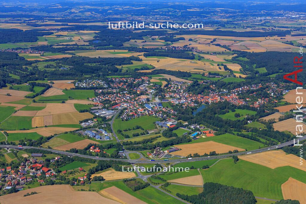 thurnau-2016-5508   Luftbild von  Thurnau - Luftaufnahme wurde 2016 von https://frankenair.de mittels Flugzeug (keine Drohne) erstellt - die Geschenkidee