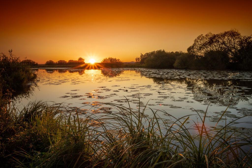 Am Teufelsmoor Brandgraben | Sonnenuntergang im Teufelsmoor