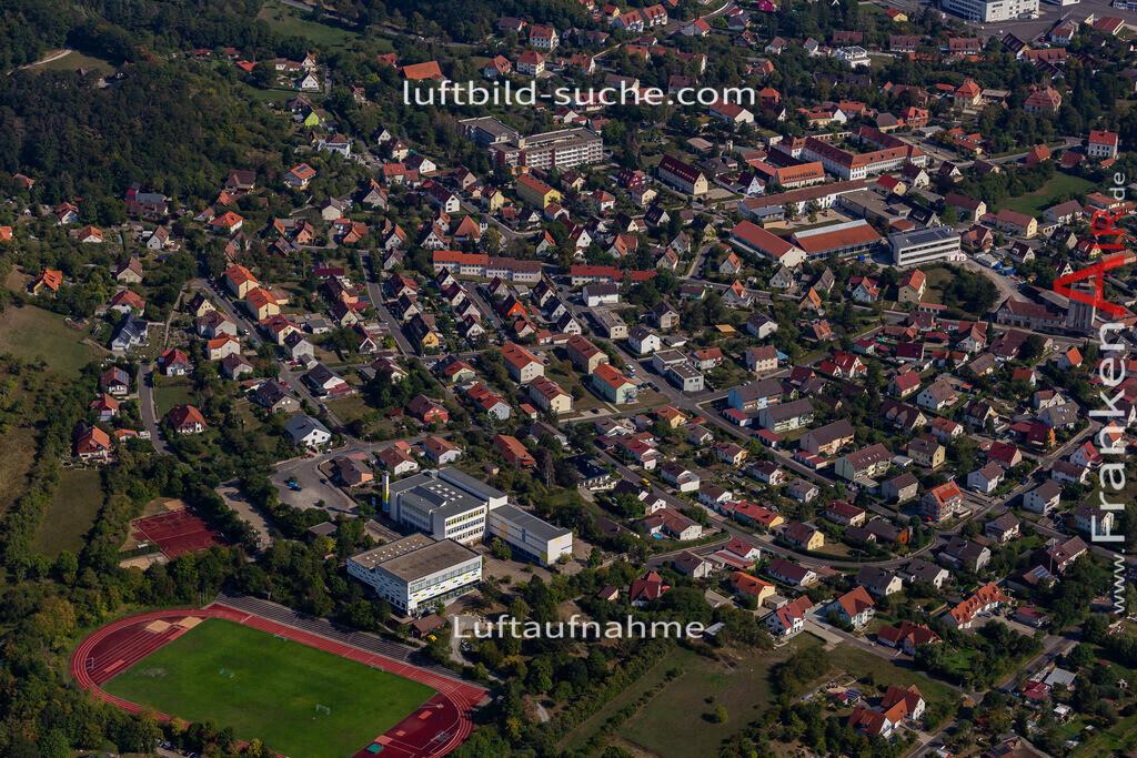 scheinfeld-19-765 | aktuelles Luftbild von  Scheinfeld - Luftaufnahme wurde 2019 von https://frankenair.de mittels Flugzeug (keine Drohne) erstellt.