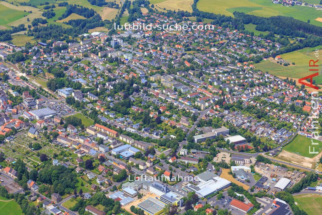 wunsiedel-2016-3777 | Luftbild von  Wunsiedel - Luftaufnahme wurde 2016 von https://frankenair.de mittels Flugzeug (keine Drohne) erstellt - die Geschenkidee