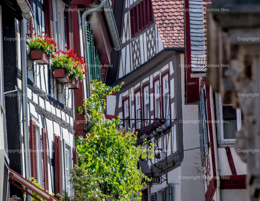 DSC_0574   Heppenheim, Altstadt, Impression, ,Pittoreske Winkel in der Altstadt zu entdecken, , Bild: Thomas Neu