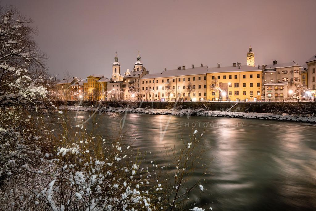 Winter in Innsbruck | Tiefster Winter in Innsbruck mit Blick zum Dom