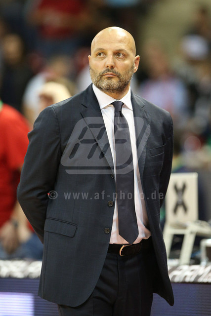 20160930_AF1DX_7617-2 | Chef-Trainer Aleksander DJORDJEVIC (FC Bayern Basketball)  , FC Bayern Basketball vs. S. Oliver Wuerzburg, Basketball, Bundesliga, 30.09.2016