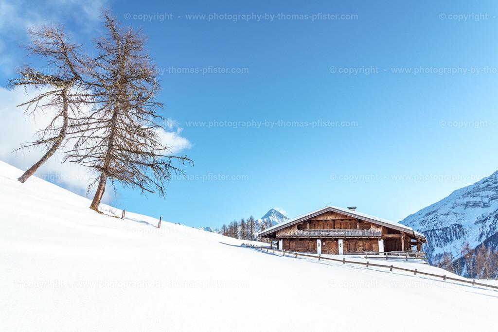 Schrofenalm Tux im Winter-2