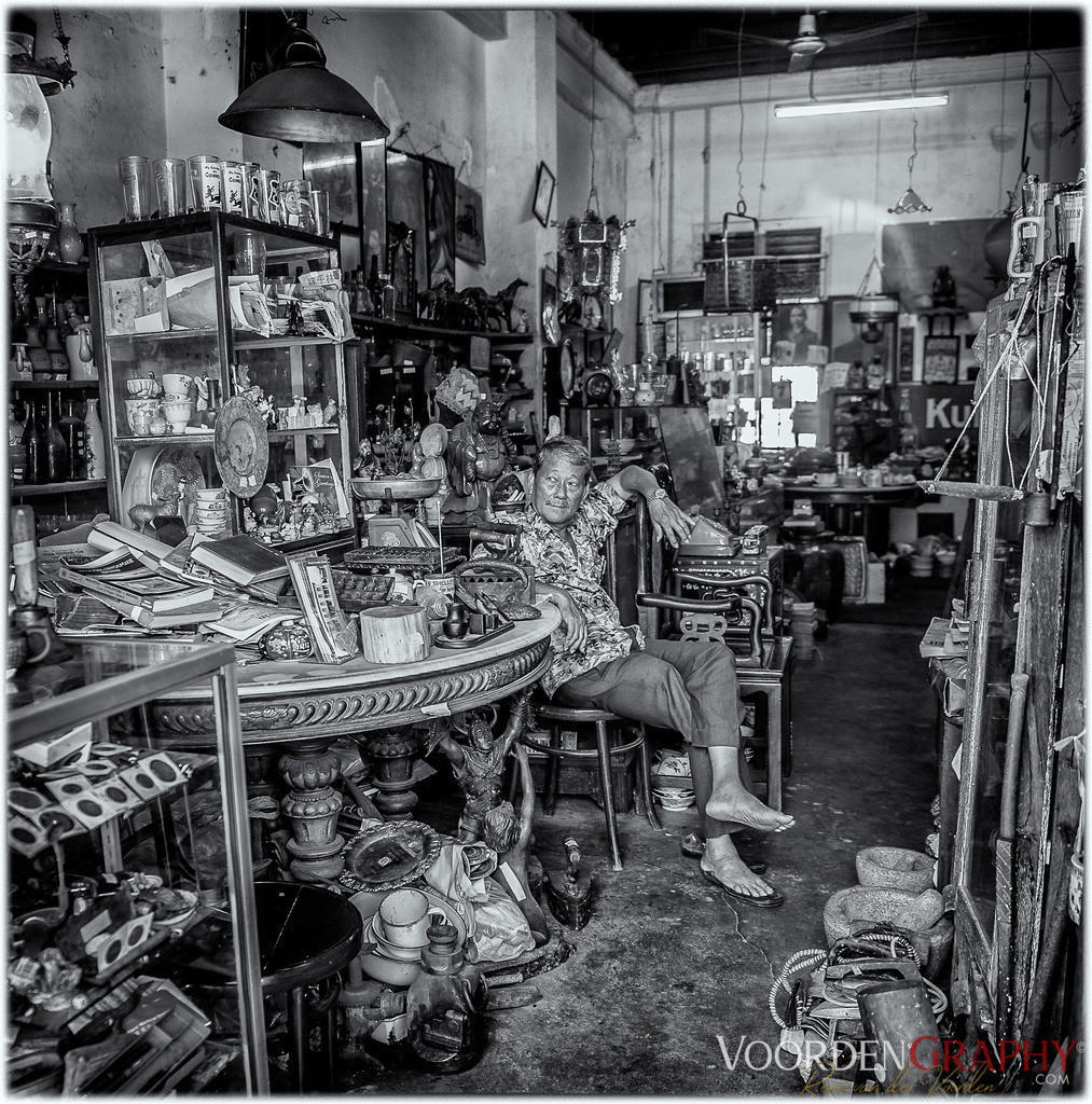 Antiquitätenhändler in Melaka / Malaysia