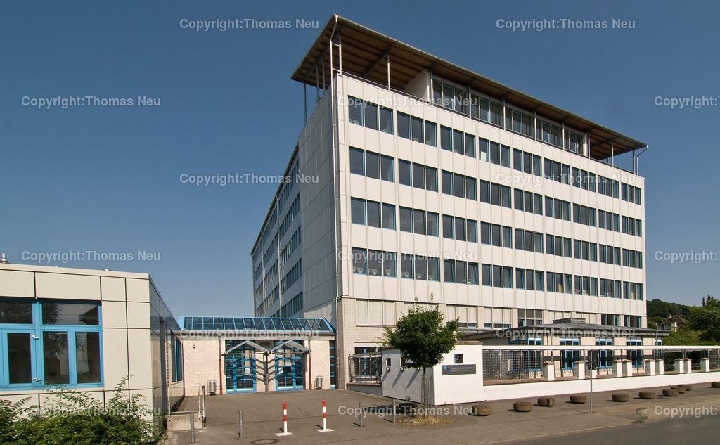 Metzendorf Schule2 | Außenaufnahme der Heinrich Metzendorf Schule in bensheim, Nord-Westfassade