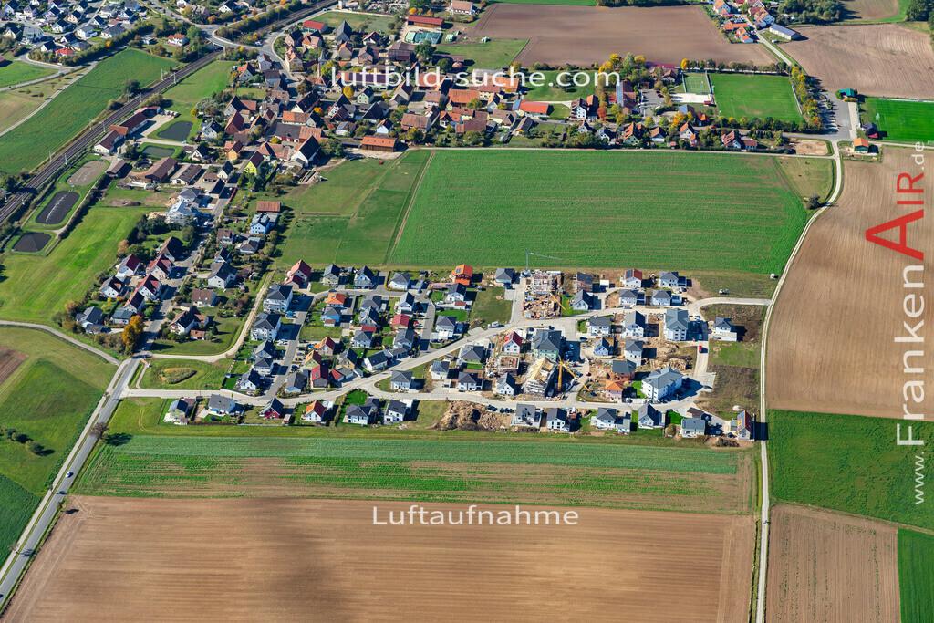 hagenbuechach-19-852 | aktuelles Luftbild von  Hagenbuechach - Luftaufnahme wurde 2019 von https://frankenair.de mittels Flugzeug (keine Drohne) erstellt.