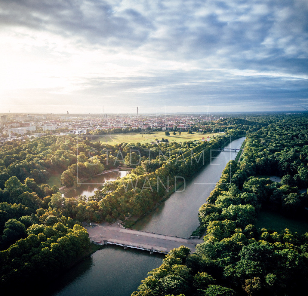 Leipzig Panorama | Elsterbecken