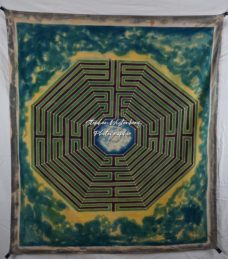 Labyrinth | Roland Gingel Artwork @ Gravity Boulderhalle, Horst und Margit Heieck, Bad Kreuznach