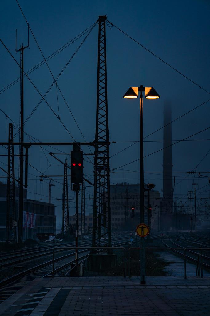 Bahnsteig | Bahnsteig am Hauptbahnhof Bielefeld.