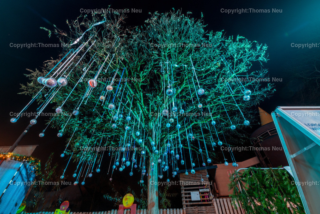 DSC_3992 | ble,Lorsch, blaues Weihnachtswunder, Innenstadt, ,, Bild: Thomas Neu