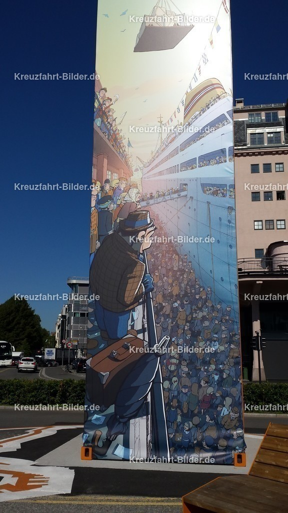 Kunstwerk im Hafen von Oslo | Kunstwerk im Hafen von Oslo