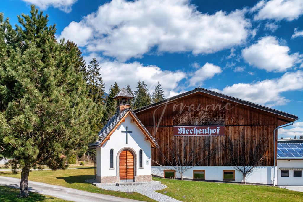 Rechenhof   Kapelle am Rechenhof in Rum