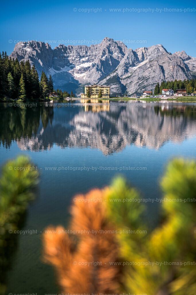 Lago di Misurina Sommer