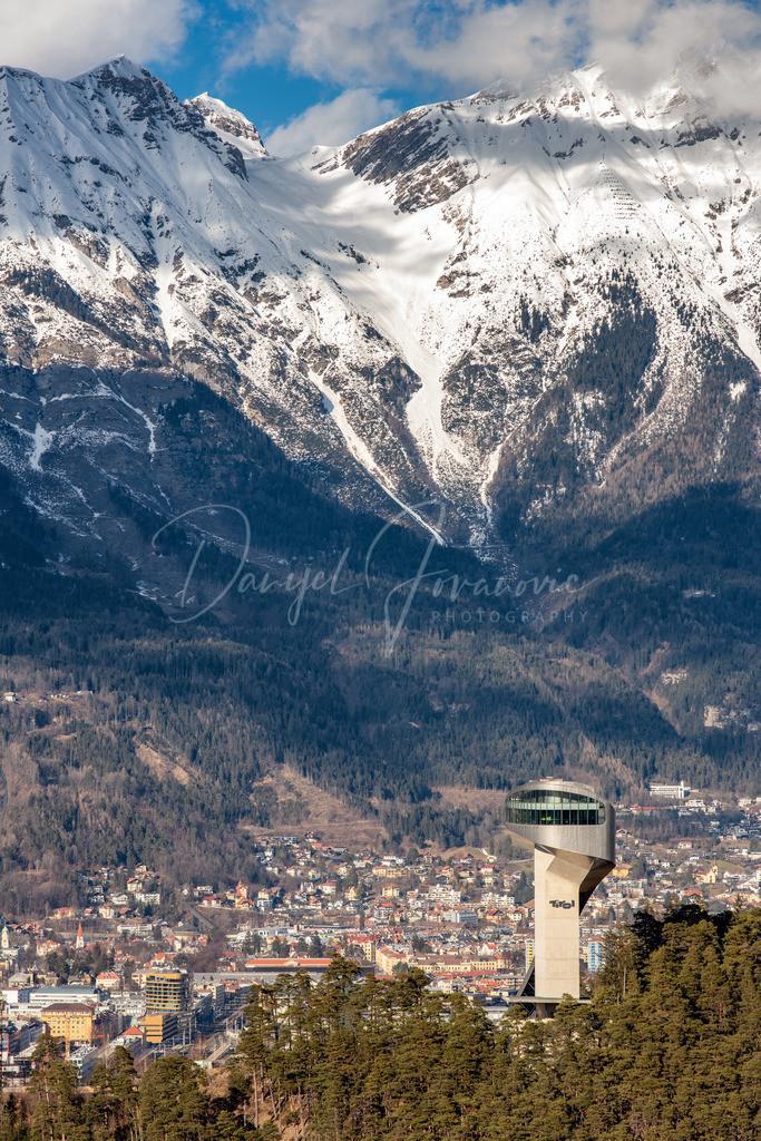 Innsbruck | Bergisel mit Nordkette