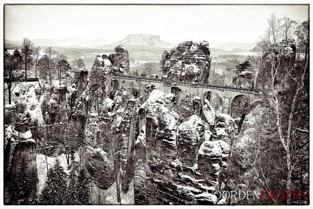 Bastei (Fels) / Elbsandsteingebirge