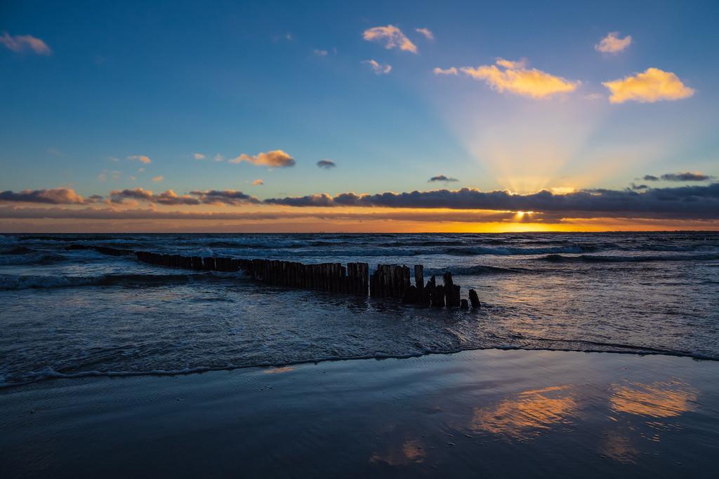 Ostseeküste auf der Insel Moen in Dänemark | Ostseeküste auf der Insel Moen in Dänemark.